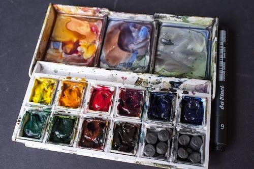 Winsor Newton Cotman Sketchers Pocket Box Set
