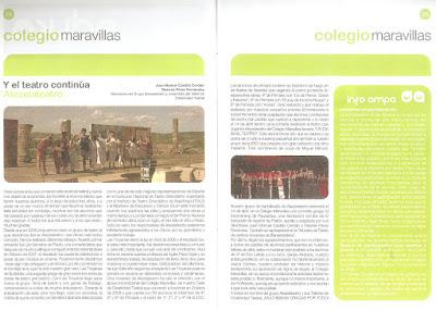 Educa (Revista escolar Benalmádena) nº 1 Marzo 2009