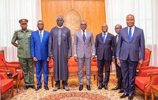 President Patrice Talon Receives NAOSRE Grand Patron, Ambassador Tukur Buratai, As He Resumes In Benin Republic ~Omonaijablog