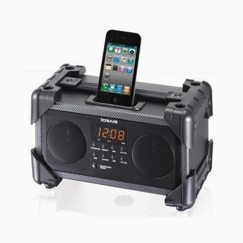Craig Cmb3228 Ipod/Iphone Docking Alarm Clock Dual Alarm