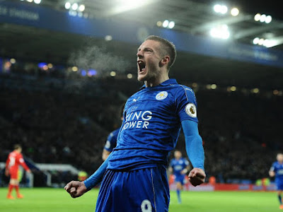 Leicester return to winning ways through Vardy's brace and a superb Drinkwater goal
