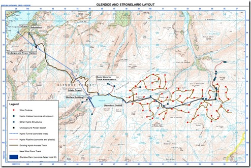 Glen Doe SSE Map