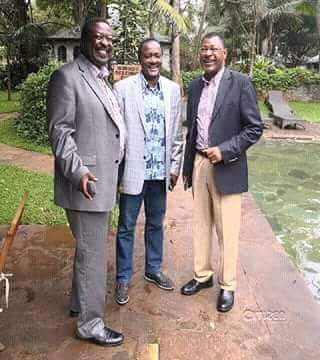 Raila skips Nasa Rallies despite being constantly welcomed by Kalonzo
