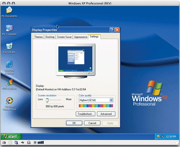 Microsoft Virtual PC – Macintosh Virtual PC software