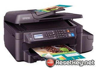 Reset Epson ET-4550 ink pads are at the end of their service life