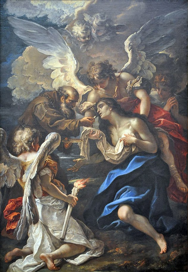 Sebastiano Ricci - The Last Communion of Saint Mary of Egypt