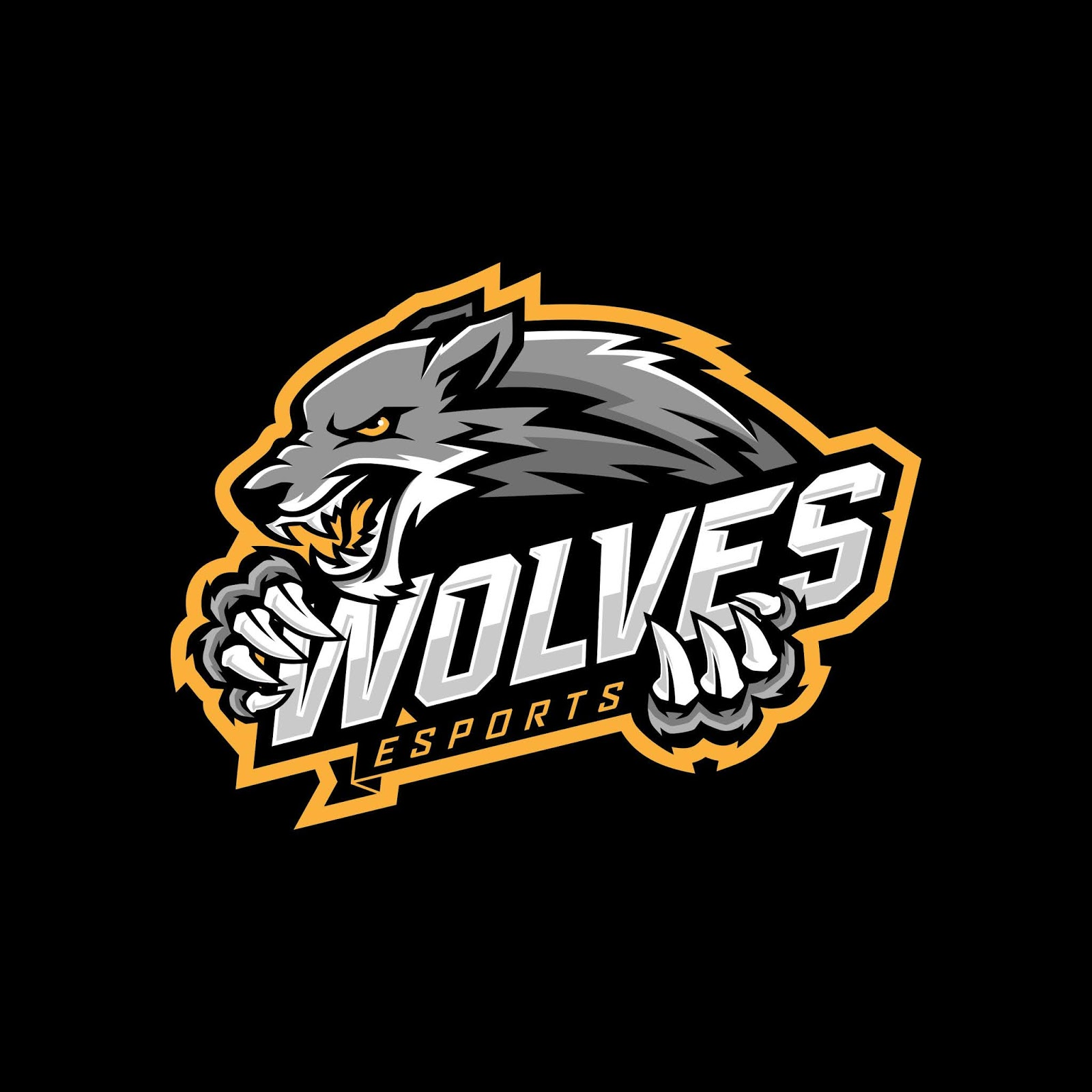 Wolf E Sports Logo Free Download Vector CDR, AI, EPS and PNG Formats