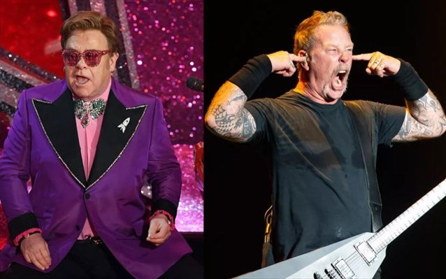 Συνεργασία με τους Metallica ανακοίνωσε ο Έλτον Τζον