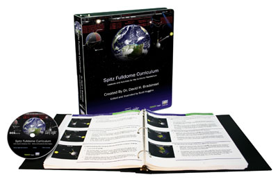 We feature the Spitz Inc. Fulldome Curriculum by author Dr. David Bradstreet