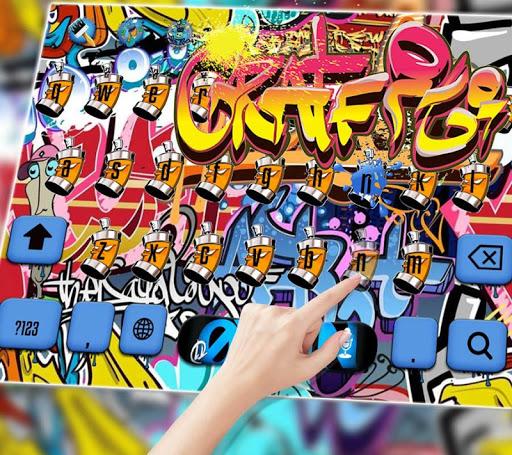 Graffiti Wall Keyboard theme  screenshots 3
