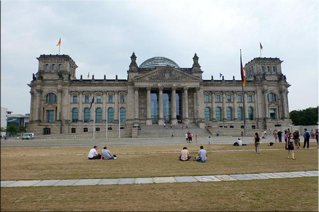 El edificio del Reichstag - Berlín'15