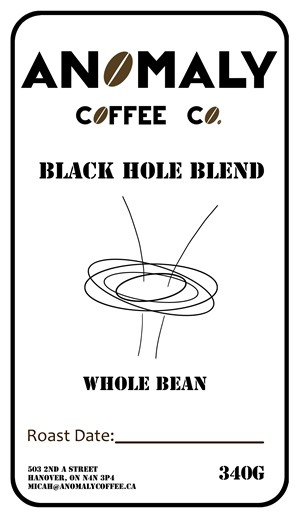 Black Hole Blend Label- anomoly1
