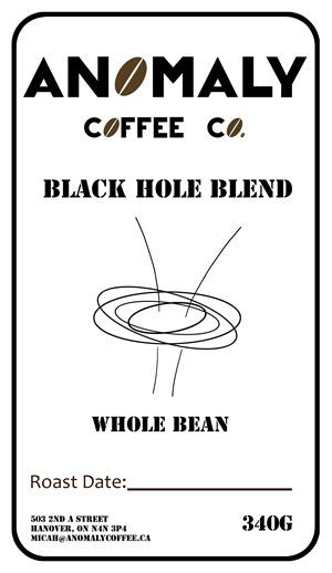 Black Hole Blend Label- anomoly1