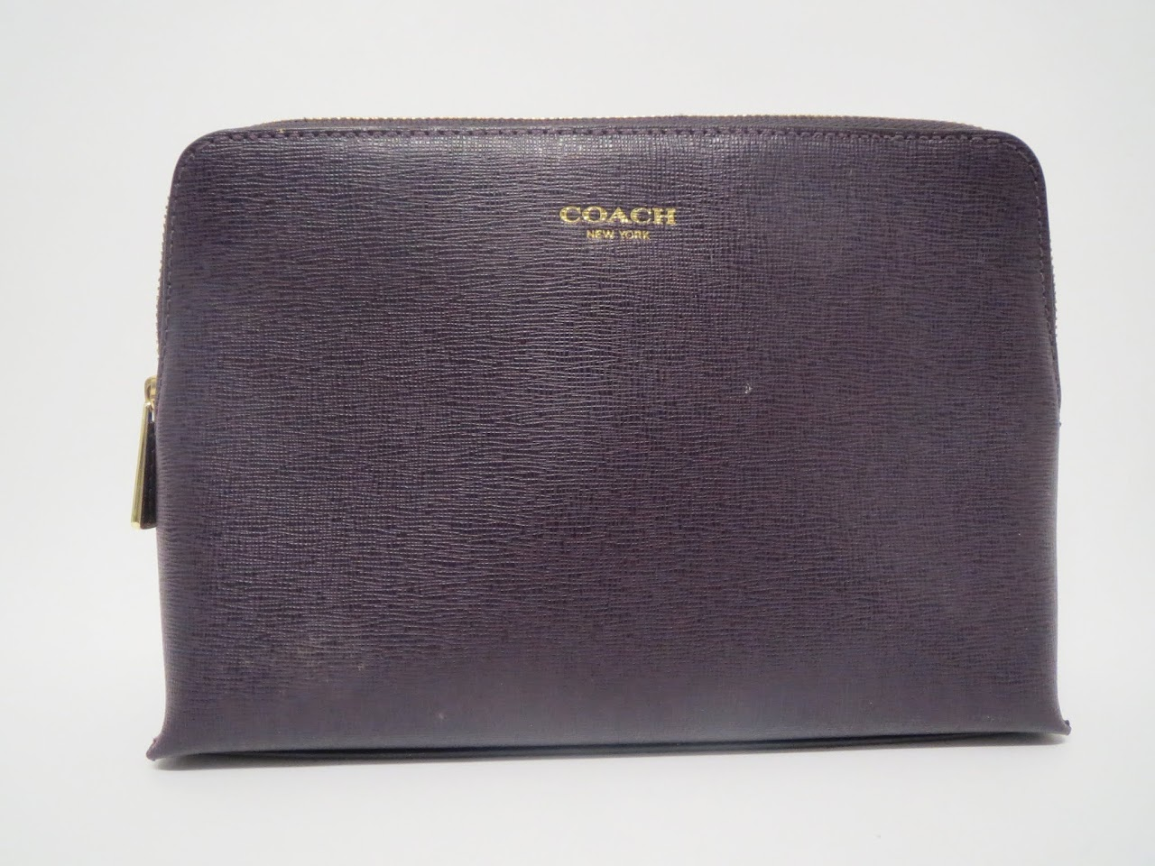 Coach Textured Leather Pouch