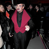 WWW.ENTSIMAGES.COM -  Steve Strange   at  Major David Bowie at Victoria and Albert Museum, Cromwell Road, London, retrospective showcasing some of his best known stage outfits. Sponsored by Gucci March 20th 2013                                                        Photo Mobis Photos/OIC 0203 174 1069