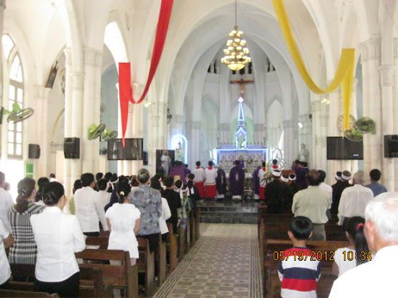 Lễ Giỗ giáp năm Cha Phanxicô Assisi Nguyễn Tôn Sùng tại Giáo Xứ Hộ Diêm