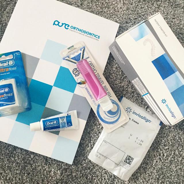 Pure orthodontics, Invisalign, Starter kit