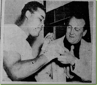 uncle lou with joe louis