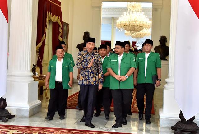 Soal Potensi Radikalisme, Jokowi Sambut Baik Usulan GP Ansor