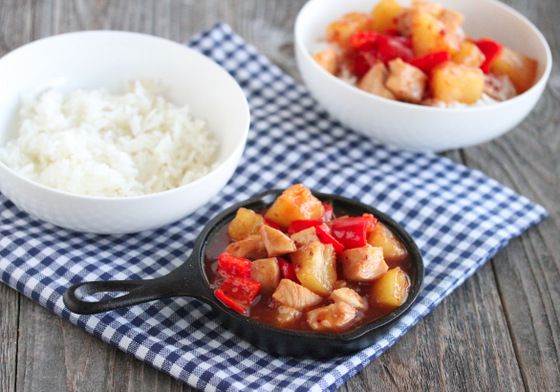 Sweet & Sour Chicken and a Giveaway