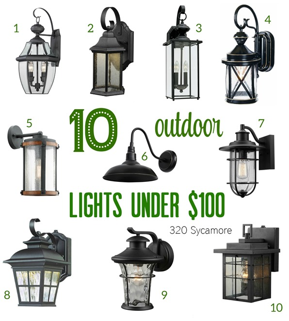 outdoor lighting lowes home depot