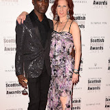 OIC - ENTSIMAGES.COM - Leroy Dawkins and Karen Hendry at the Scottish Fashion Awards in London 3rdSeptember 2015 Photo Mobis Photos/OIC 0203 174 1069