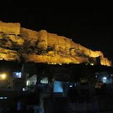 Fort at night, Jodhpur