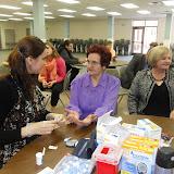 Spotkanie medyczne z Dr. Elizabeth Mikrut przy kawie i pączkach. Zdjęcia B. Kołodyński - SDC13589.JPG
