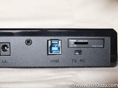 PCとTVの切り替えスイッチでアクセスがない時電源を切ることができる