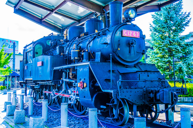 Steam Locomotive at Chino Station photo1