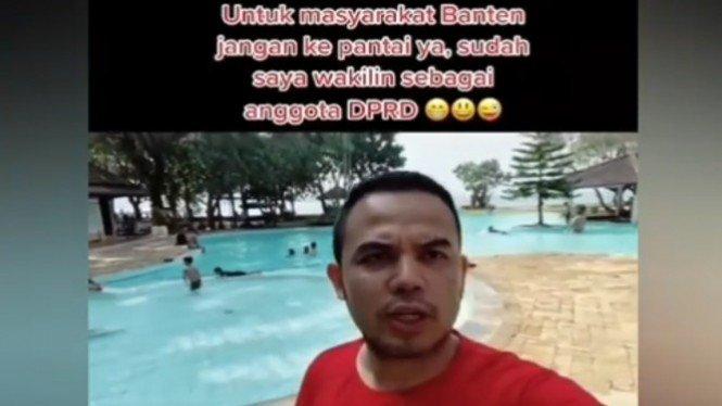 Viral Wakil Rakyat Liburan, Akhirnya Minta Maaf kayak Emak-emak