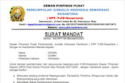Resmi Terima Mandat DPD PJID Kota Dumai, Ini Permintaan Erwin