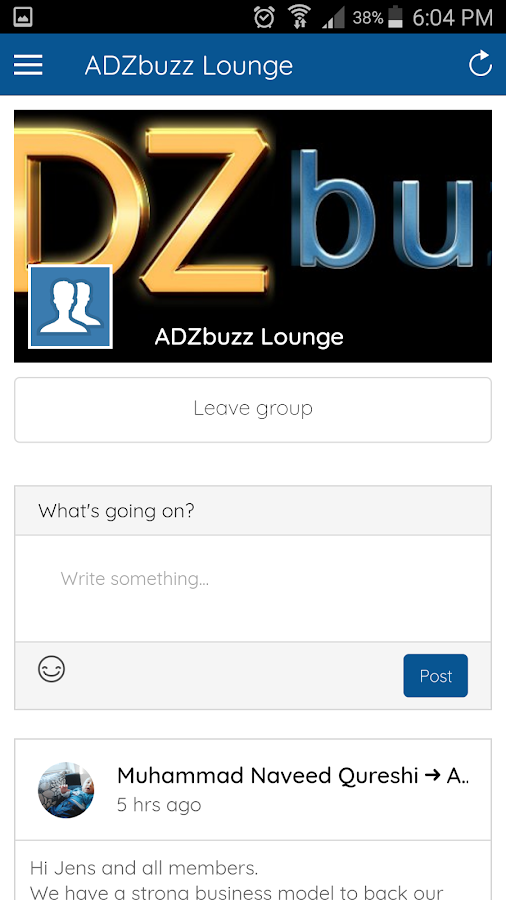 ADZbuzz (Unreleased)- screenshot