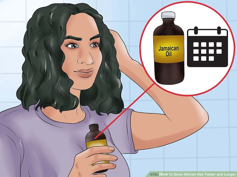Grow Your African Hair Faster And Longer Magical Steps  3