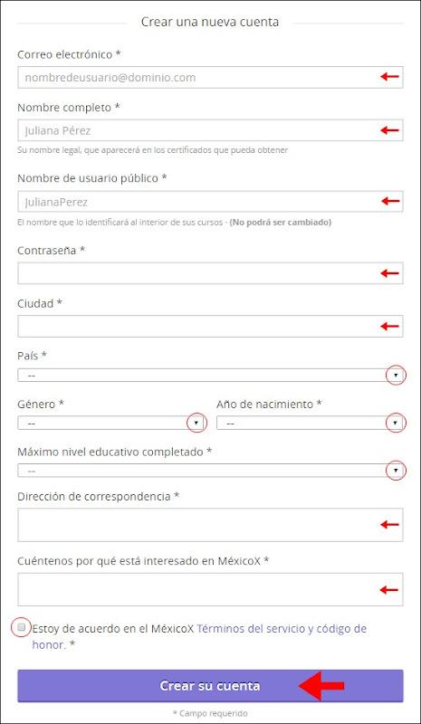 Abrir mi cuenta en MexicoX - 729