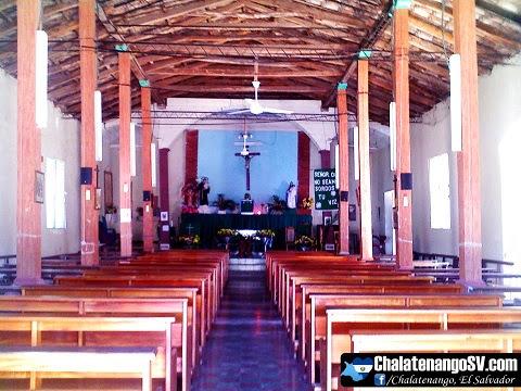 Interior de la Iglesia San Antonio de Padua, Chalatenango