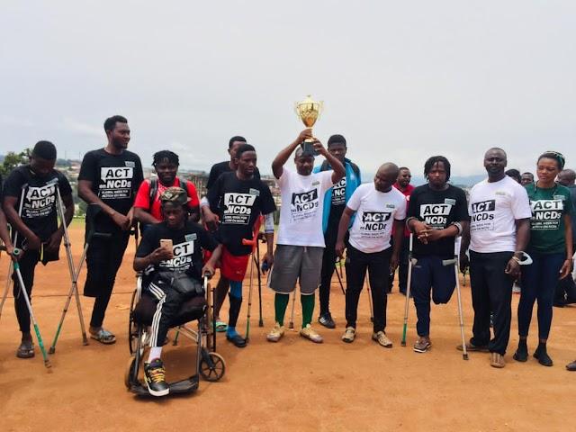 Global Week for Action on NCDs: RADA communes with old, Abakwa Boys, sensitise the masses