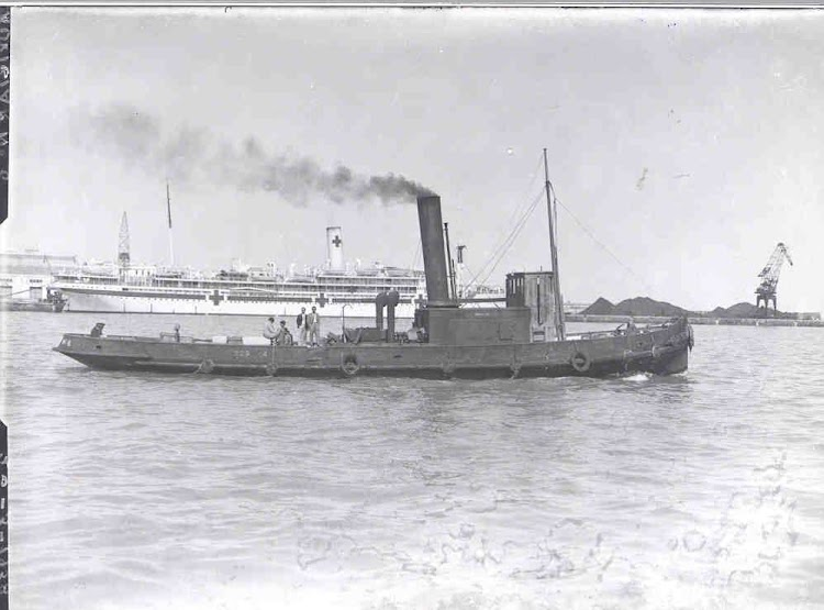 El AUXILIAR NUMERO 6 en Cadiz. Ca 1915. Foto Museo el Dique..jpg