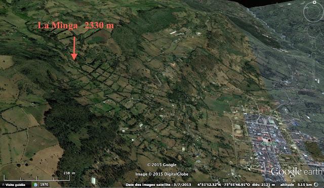 """""""La Minga"""", 2330 m d'altitude, près de Choachi (Cundinamarca, Colombie)"""