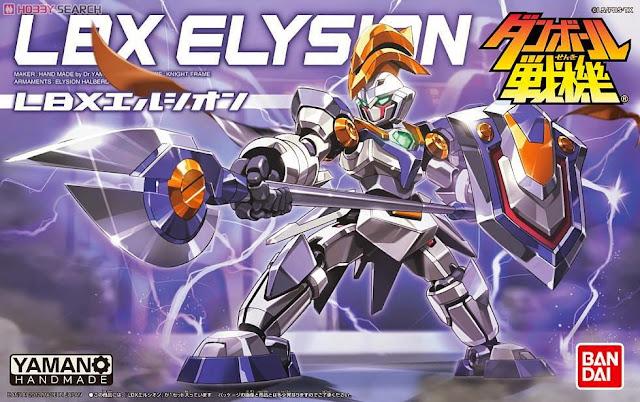 Bao bì sản phẩm Mô hình Đấu sĩ LBX Elysion