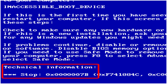 Learn About The Windows Error Code 0x0000007b And Its