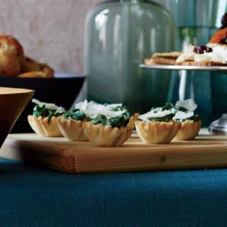 Creamed Spinach Phyllo Cups.