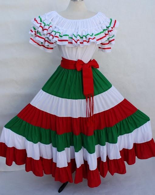 Vestidos Folkloricos Y Trajes Típicos Mexicanos Noviembre 2016