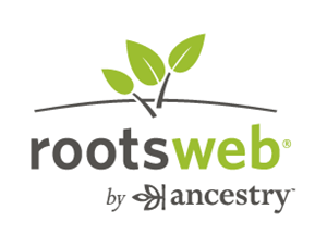 Logo of RootsWeb by Ancestry