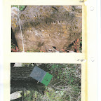 Picture described in letter showing Mary Porter, died 1850 grave and slave grave