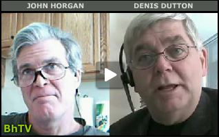 Denis Dutton Bhtv, Denis Dutton