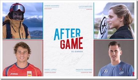 """El Ganso estrena campaña """"After Game"""" apostando por el pádel a través de Paquito Navarro."""