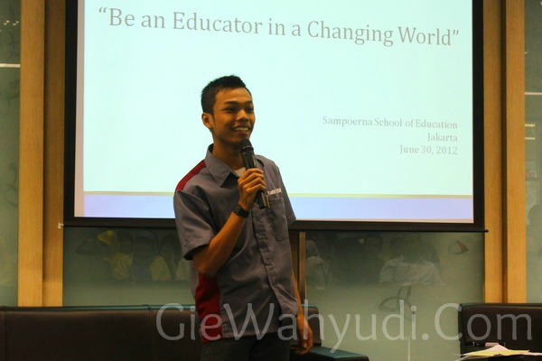 Open House Sampoerna School of Education SSE Be An Educator in Changing World