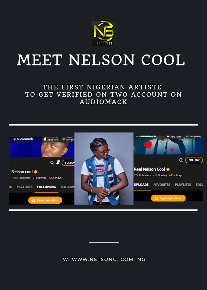 [News] First Artiste to get verified by Audiomack on Two account