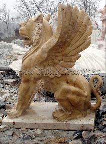 Animal, Exterior, Ideas, Landscape Decor, Statues, Winged